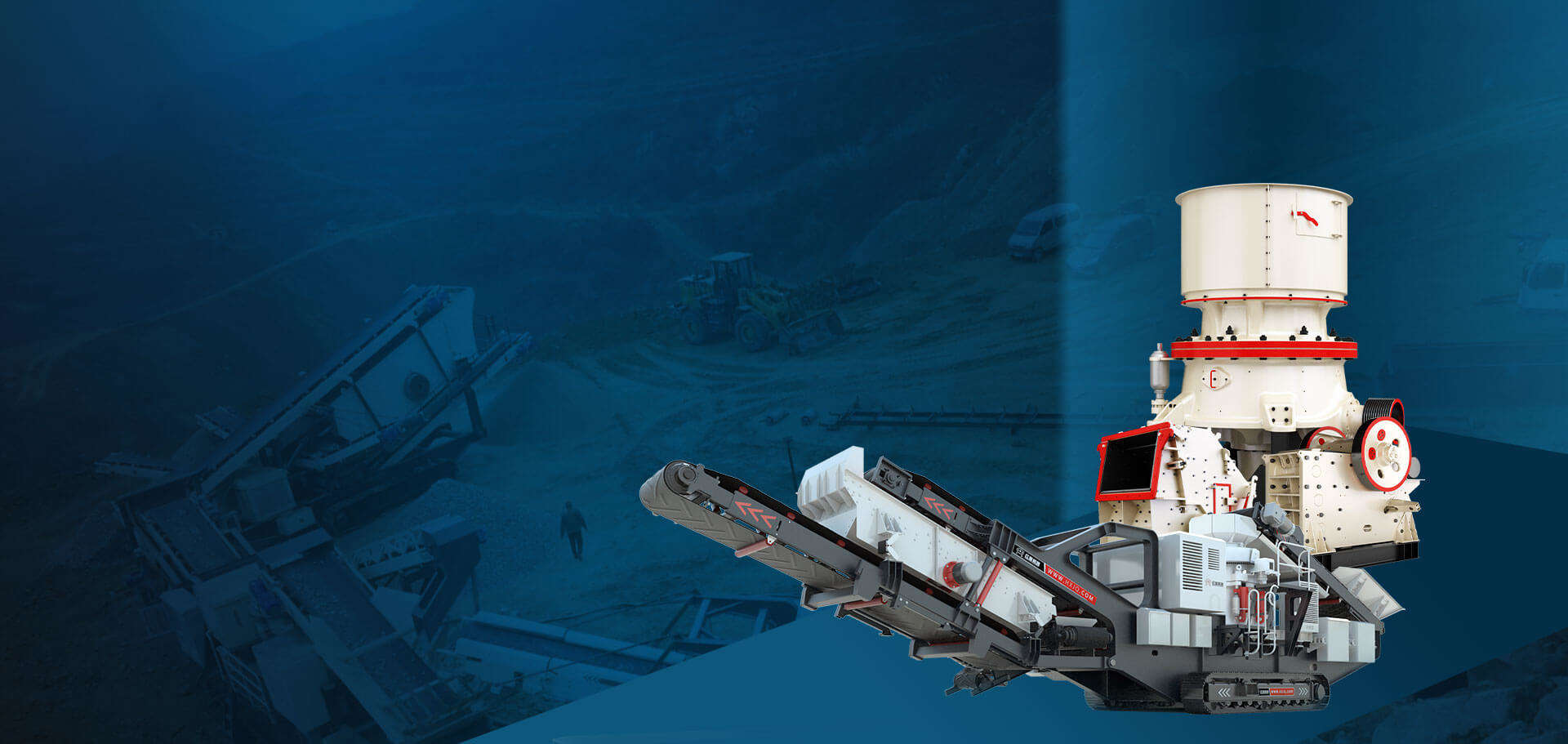 40年大型矿山设备生产基地